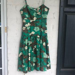 Anthro Moulinette Soeurs floral cotton sundress
